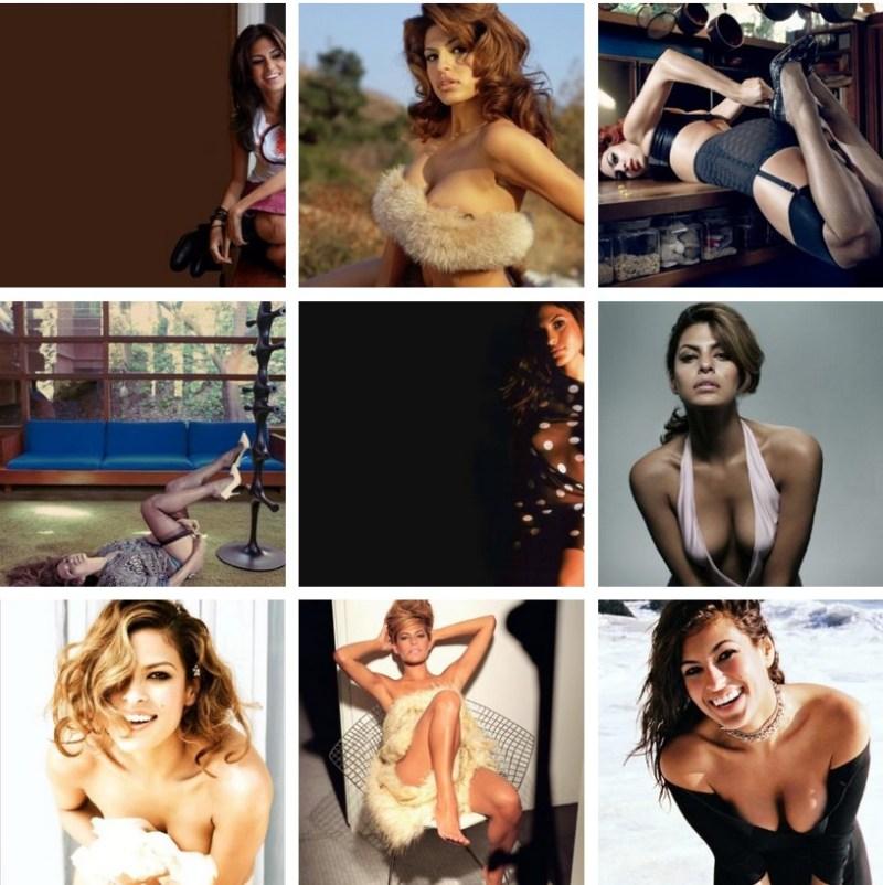 Eva Mendes Sexy Pics