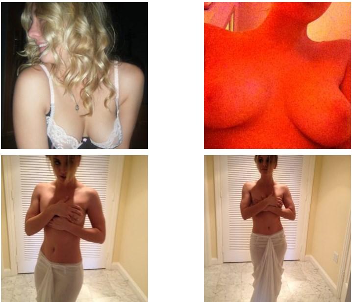 Kaley Cuoco nude