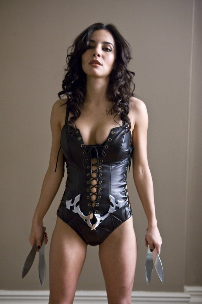 Martha Higareda In A Scandalous Outfit from Smokin' Aces