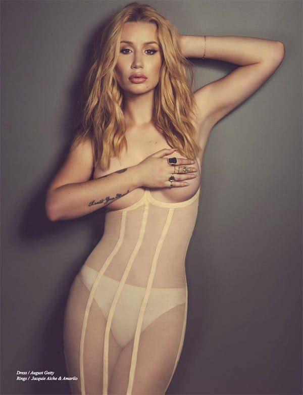 Iggy Azalea Topless Photos