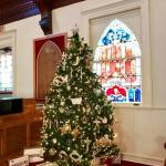 All Souls Church Christmas tree