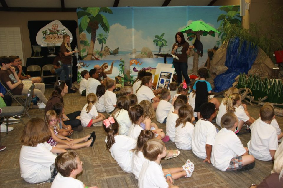 Kids Ministry at All Souls Church in Scott Arkansas, vacation bible school