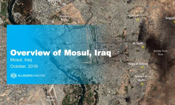 DR-20161104-IZ-A - Overview of Mosul, Iraq