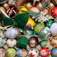 The 1968 Easter Egg Tree