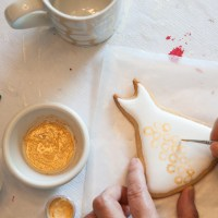 On my worktable - Dress Cookies