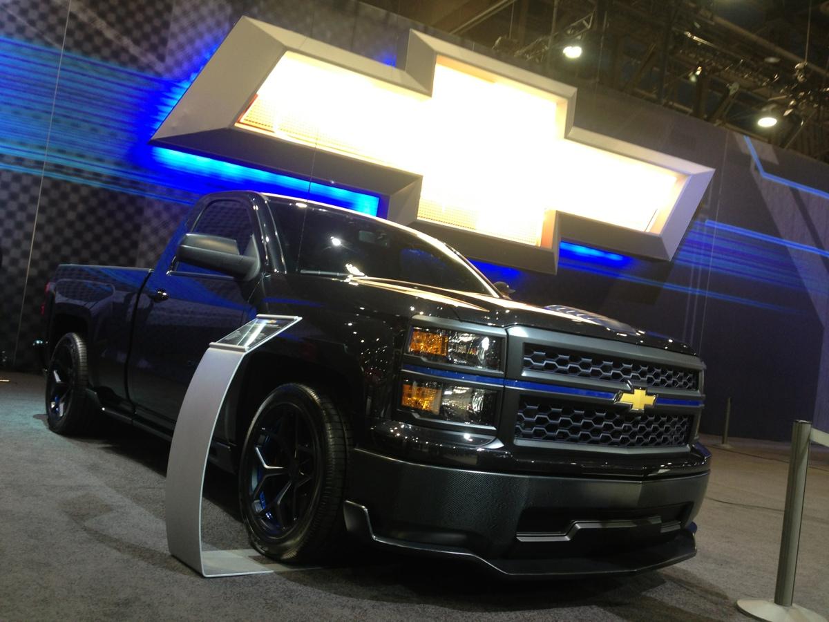 The 2014 Chevrolet Cheyenne Silverado Concept All Star