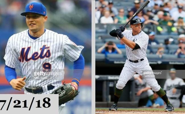 New York Mets Vs New York Yankees Highlights July 21