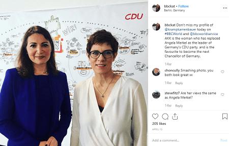 Katya Adler and her co-worker