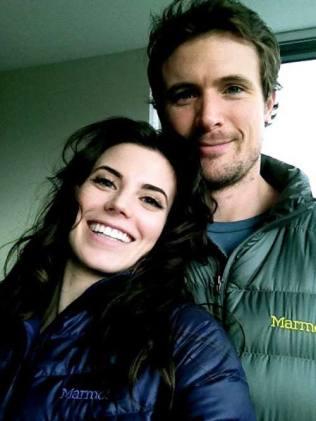 Meghan Ory with her husband John Reardon