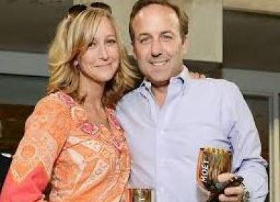 Lara with her ex-husband, David Haffenreffer