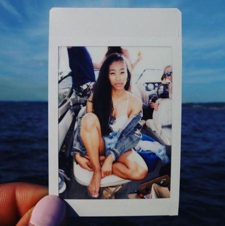 Teenage photo of Jennie Pegouskie.