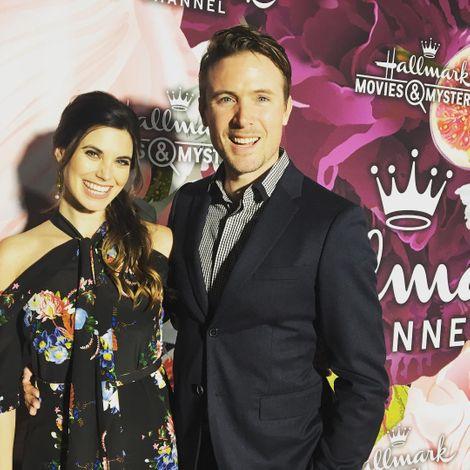 John Reardon with his beautiful wife
