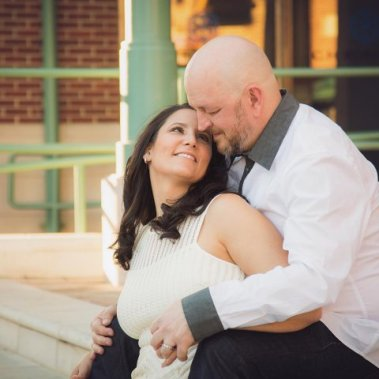 Brent Hatley and his wife, Katelyn