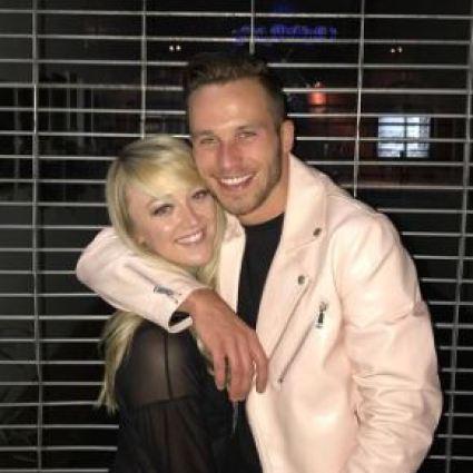 Meghan with her boyfriend, Kameron Kennedy