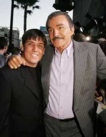 Quinton Anderson Reynolds and father, Burt Reynolds