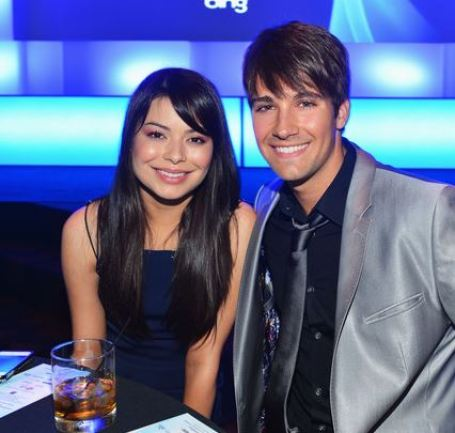 Miranda Cosgrove with her boyfriend, James Maslow at the 14th Annual Young Hollywood Awards presented by Bing at Hollywood Athletic Club on 14th June 2012, in Hollywood, California.