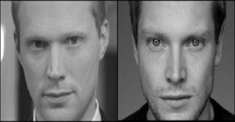 Paul Bettany (left) Vs. Simon Woods