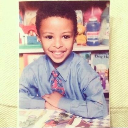 Diggy Simmons childhood