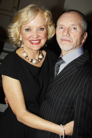 Christine Ebersole with her Husband, Bill Molony