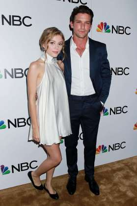 Grace Van Dien and Connor Paolo