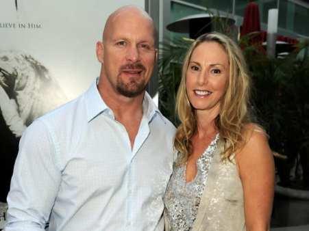 Kristin with her spouse, Steve