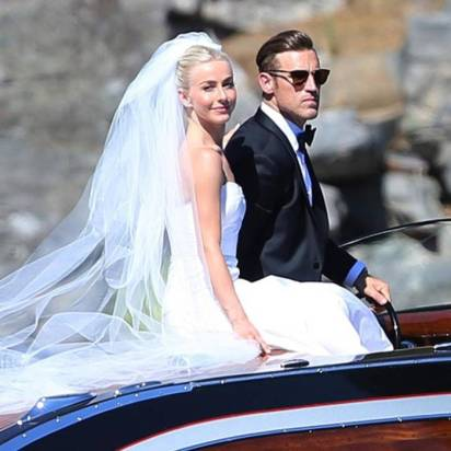 Relive Julianne Hough and Brooks Laich's Fairy-Tale Wedding One Year Later