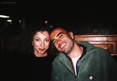 Florian Haertel and his Wife, Alex Kingston
