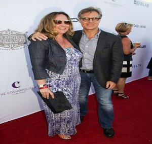 Henry Czerny and his wife.