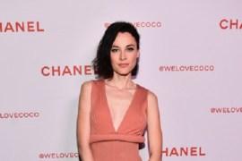 Image of an actress and model Loan Chabanol