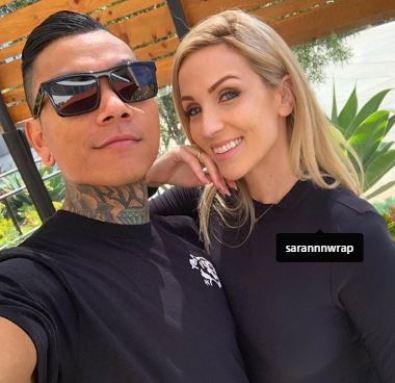 Randall Pich with his girlfriend, Sara Ann
