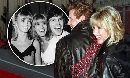 Jeff Conaway and his 2nd wife, Rona Newton-John