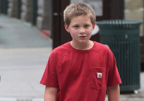 Photo of David Letterman's son Harry Joseph Letterman
