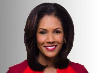 Photo of an anchor and reporter Kimberly Gill