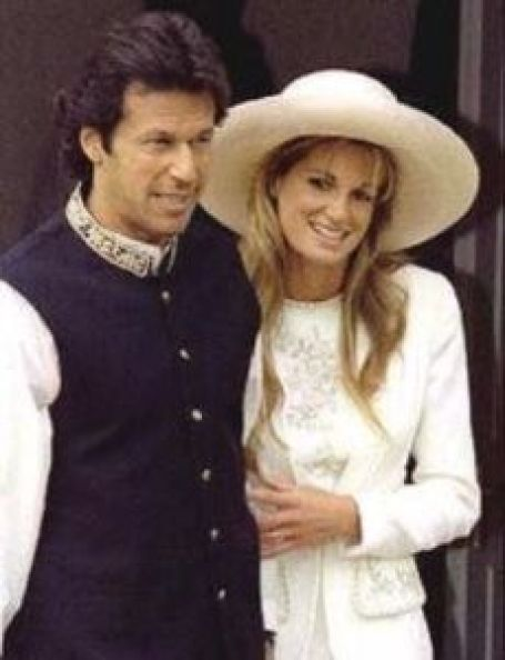 Stephanie Beacham with her ex-Boyfriend, Imran Khan