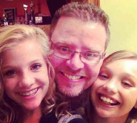 Randy Hyland with her two daughter, Brooke and Paige