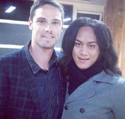 Dianna Fuemana with her partner, Jay Ryan