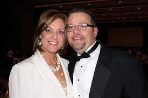 Randy Hyland with his wife, Kelly