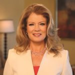 Image of a television personality Mary Hart