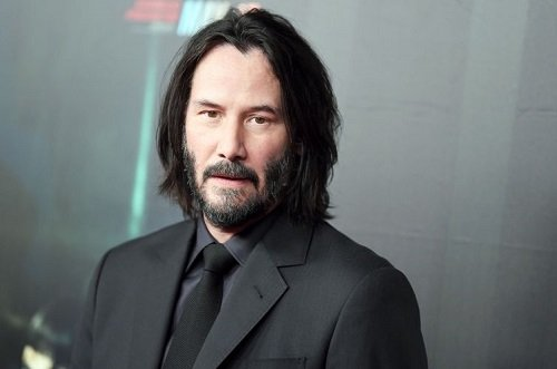 Image of an actor Keanu Reeves