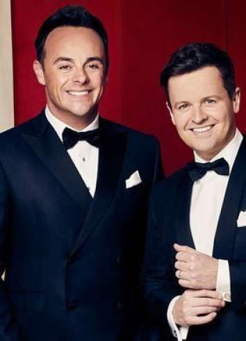 Anthony McPartlin with his partner, Donnelly.