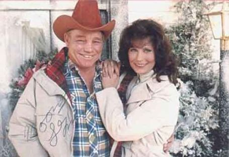 Photo of Loretta Lynn and her spouse, Oliver Lynn.