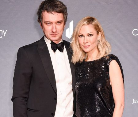 Desi Lydic and her husband