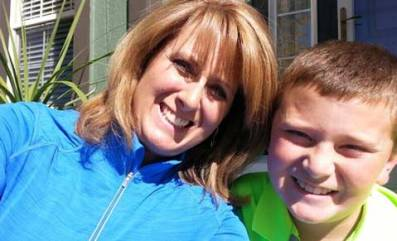 Heidi Russo With Her Son