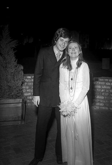 Michael Tell with his wife, Patty.