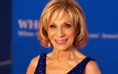 Journalist Andrea Mitchell photo