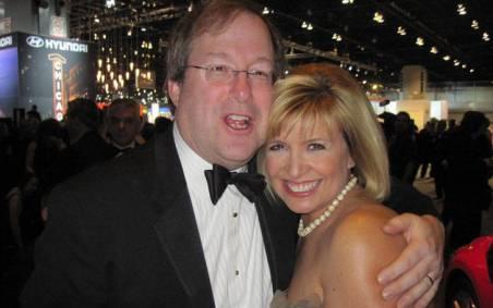 Allison Rosati and her former husband, Lee Dennis