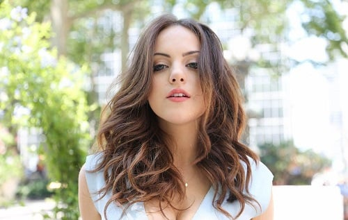 Actress and model Elizabeth Gillies