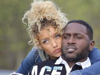 Jena Frumes and Antonio Brown