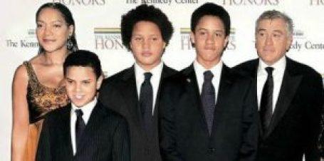 Photo of Julian Henry De Niro's Family.
