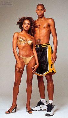 Marita with her ex-husband Reggie